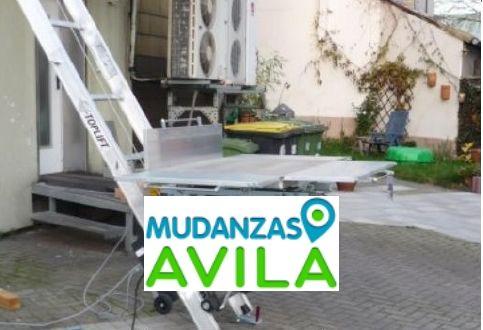Empresa mudanzas Avila
